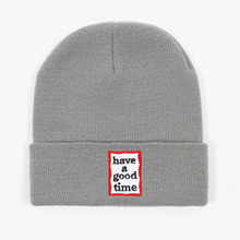 [Have a good time] Frame Beanie - Grey