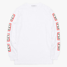 [Have a good time](30%세일) Arm Frame L/S Tee - White
