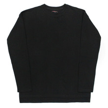 [Nameout] Basic Oversized Sleeve T - Black
