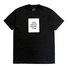 [Anti Social Social Club] CLUB TEE [2017S/S] - BLACK