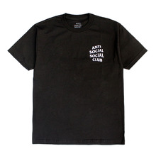 [Anti Social Social Club] CLUB TEE 2 [2017S/S] - BLACK