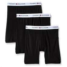 [Tommy Hilfiger] Cotton Boxer Brief 3pack - Black