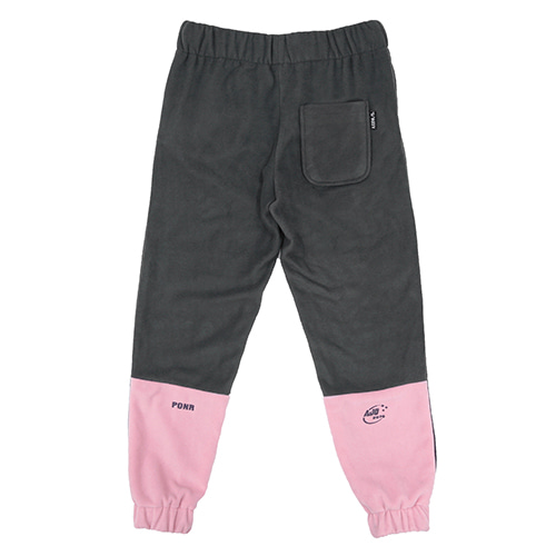 [AJOBYAJO]  Fleece Jogger Pants (Pink)
