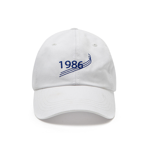 [OVERTHEONE][152]1986 BALL CAP(WHITE)