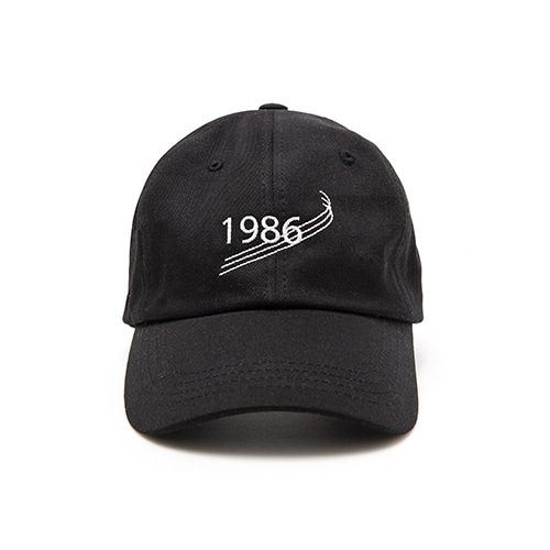 [OVERTHEONE][152]1986 BALL CAP(BLACK)