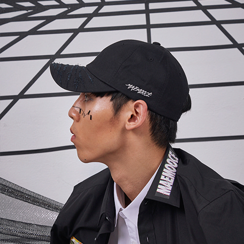 [MAEMOOCE][UNISEX]Destroyed Ball-CAP