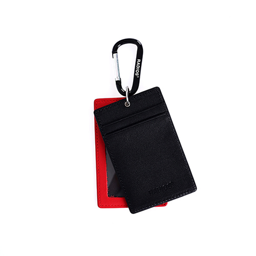 [RADIOS] Double Card Holder Track.4 - Black