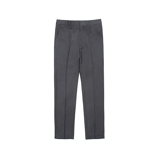 [LAFUDGESTORE] Metier Tapered Wool Slacks_Charcoal