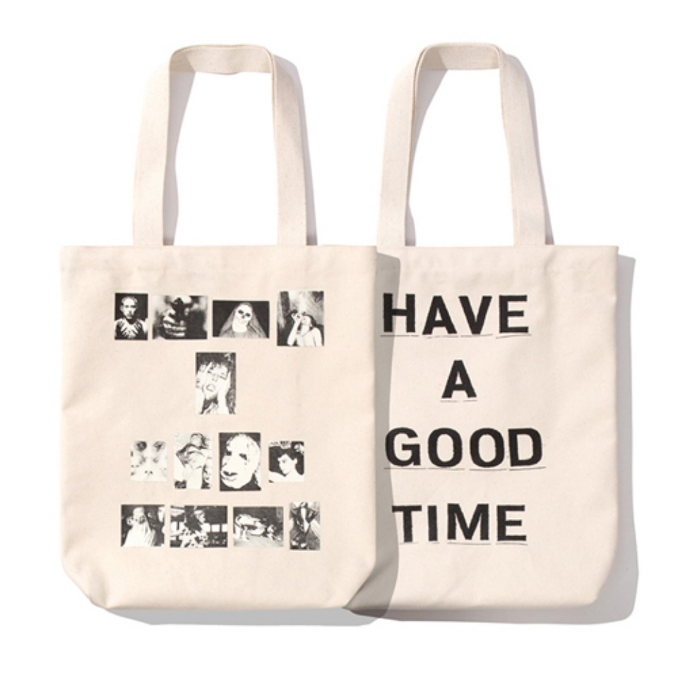 [Have a good time] WEIRDO TOTE - NATURAL