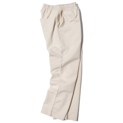[KRUCHI] Piping Easy Pants (ivory)