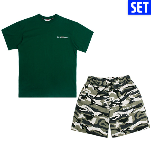 [LAMODECHIEF][1+1] SHORT SLEEVE + PANTS SET No.2