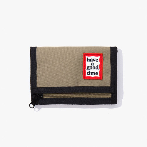 [Have a good time] FRAME WALLET - SAND