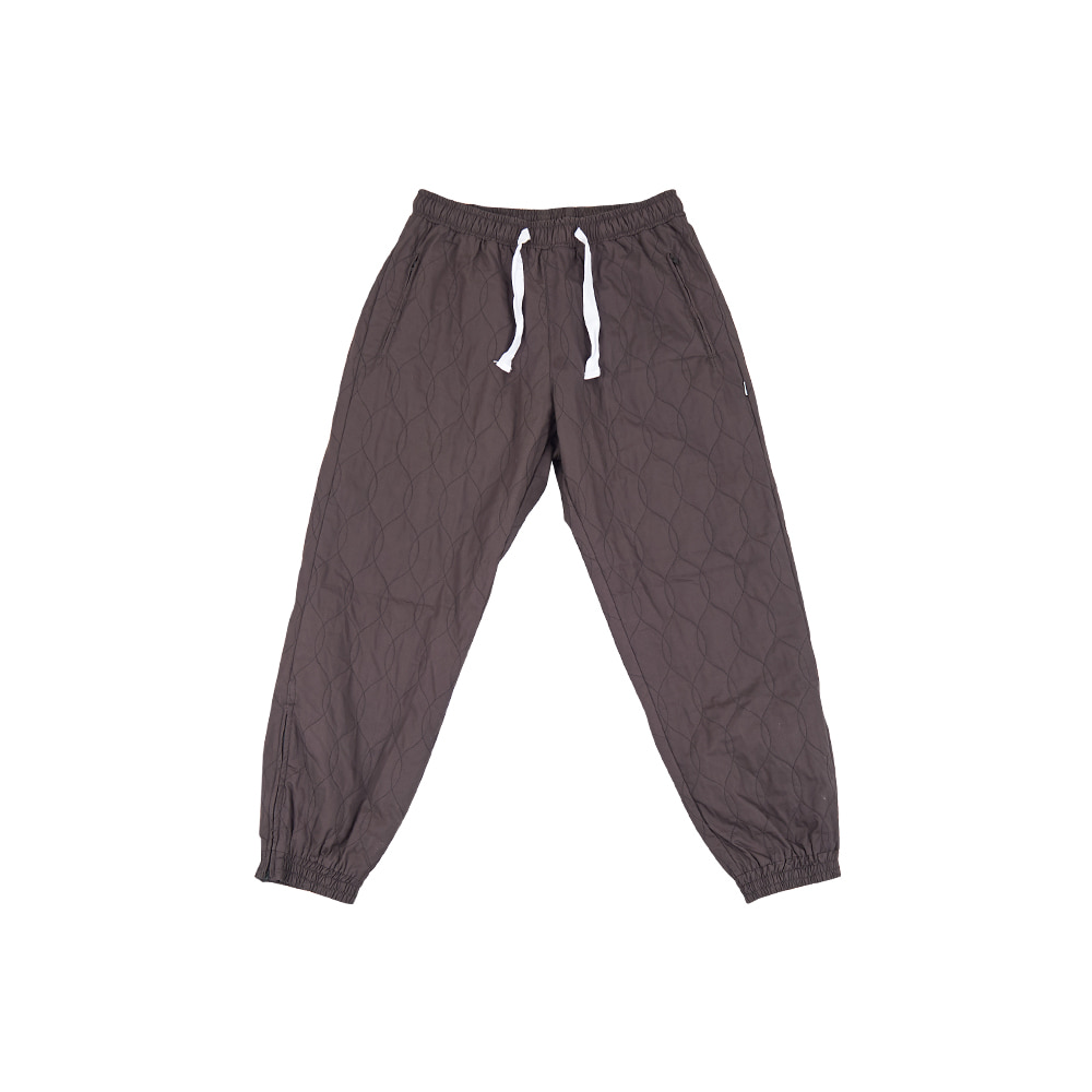 [YESEYESEE] Quilted Jogger pants Charcoal