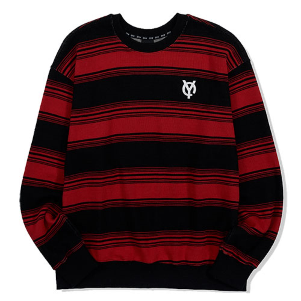[OY] LOGO STRIPE MTM-RED