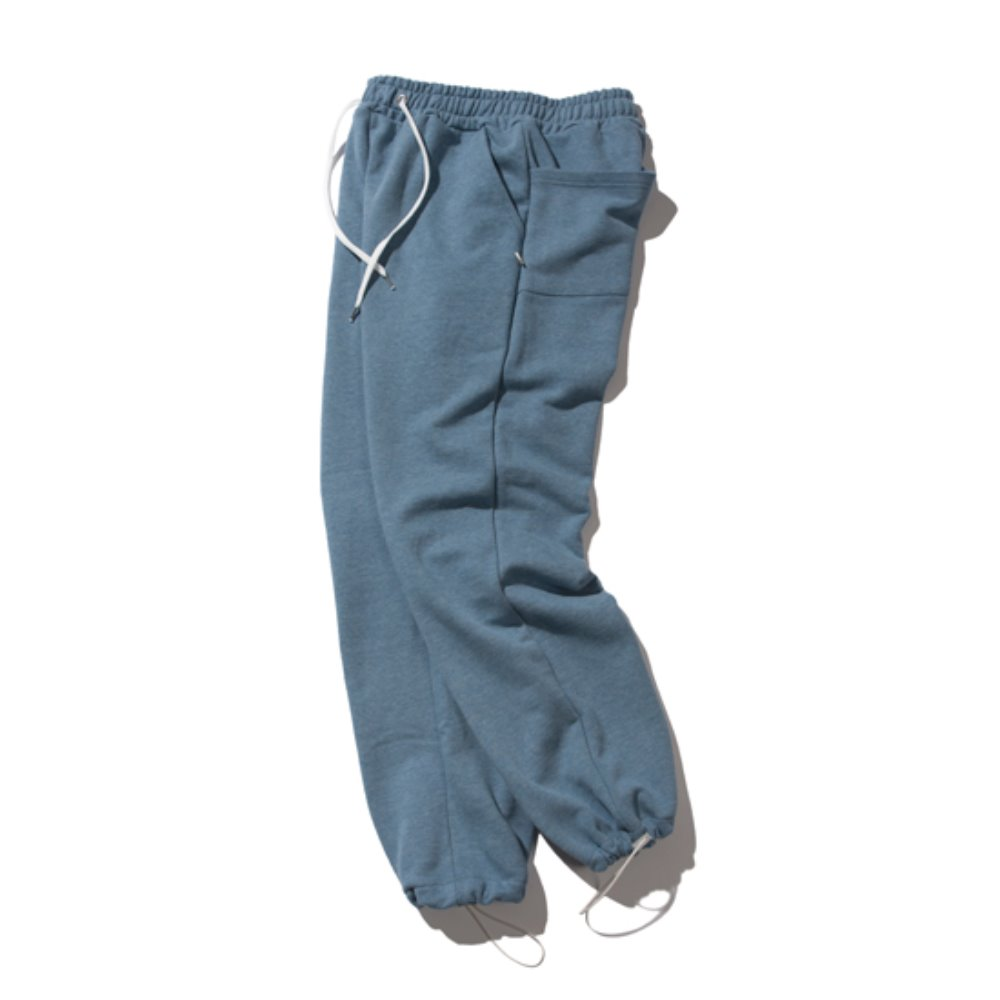 [크루치] Keyring sweat pants (blue)