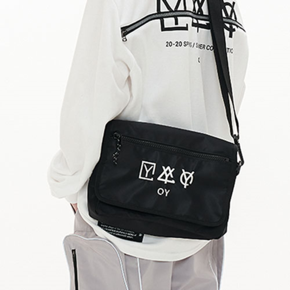 [OY]TRIPLE LOGO CROSS BAG