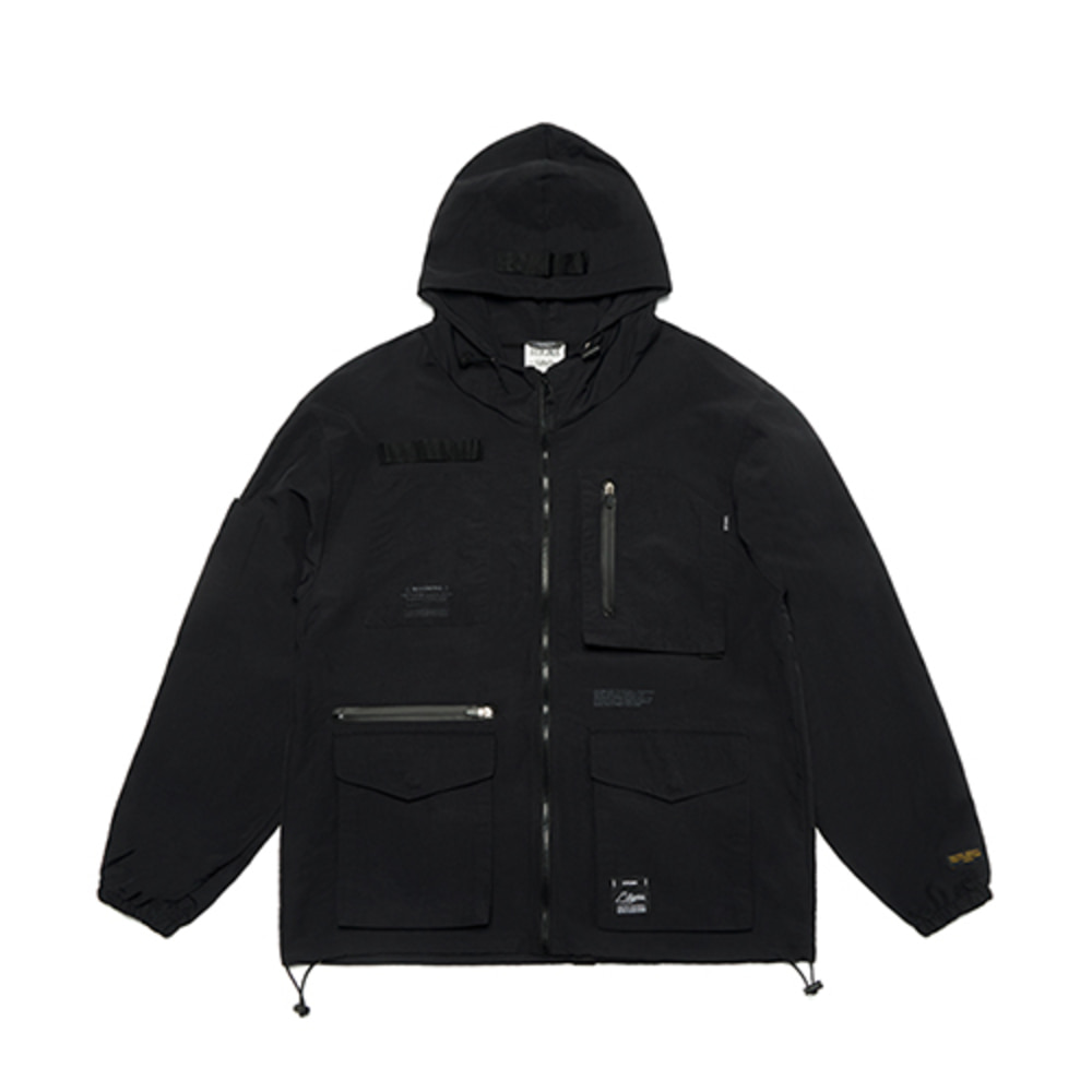 [스티그마] S TECH WINDBREAKER JACKET - BLACK