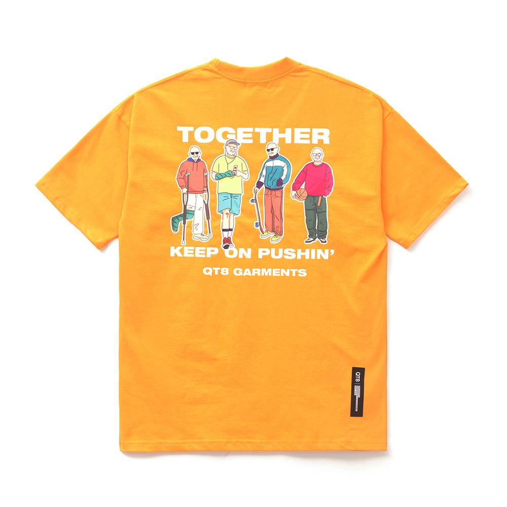 [QT8 GARMENTS] FG Together Grand Tee (Orange)