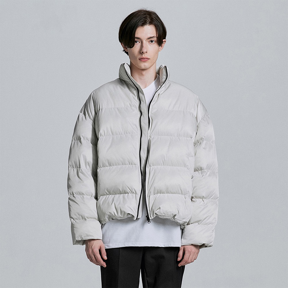 [디프리크] Oversized Padded Jacket - Ivory