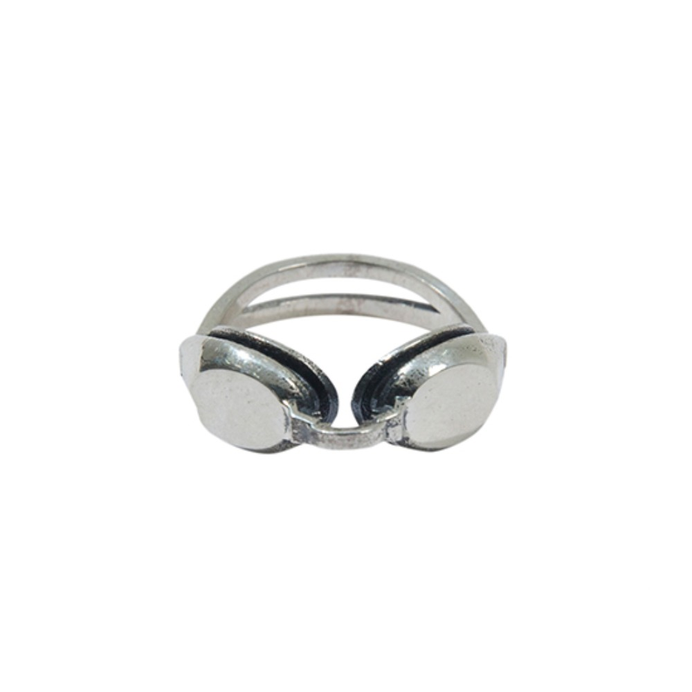 [크루치] SWIMMING GOGGLES RING (SILVER)