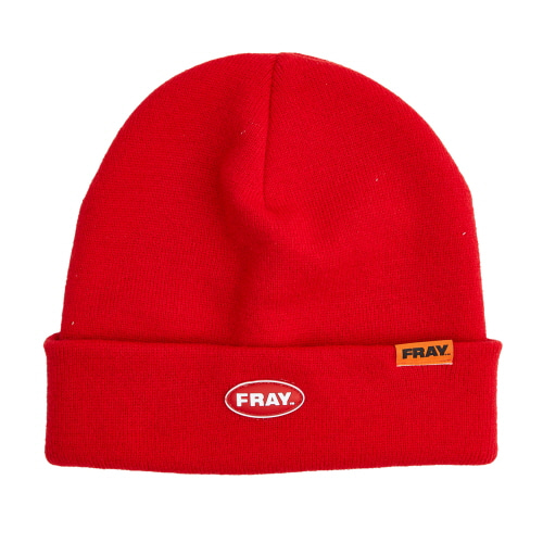[FRAY] FRAY BEANIE - RED