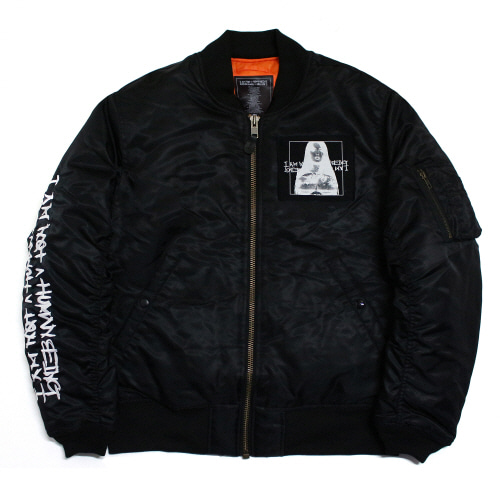 [17W] Porno 6 Flight Jacket - Black