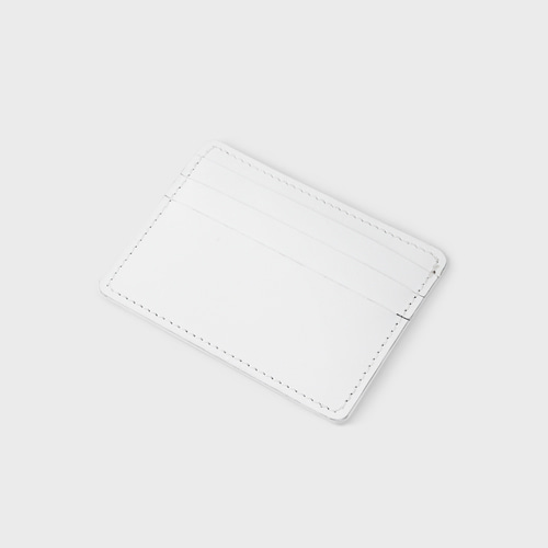 [NONENON] CARD WALLET_WHITE