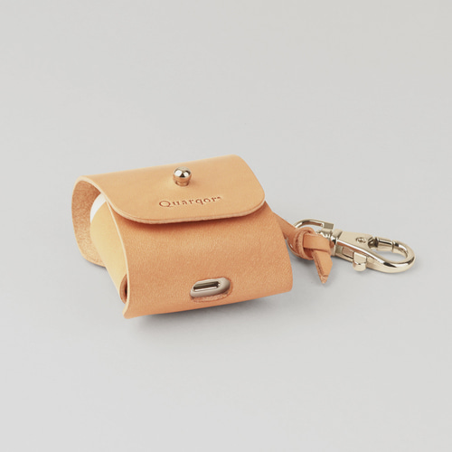 [QUARQOR] DANIEL AIRPODS CASE_Natural