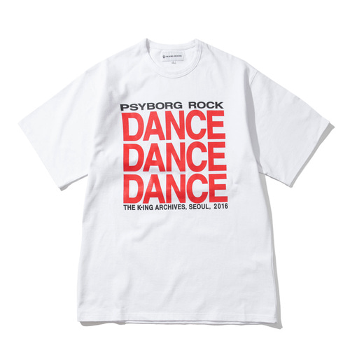 [KING]DANCE T-Shirt -White