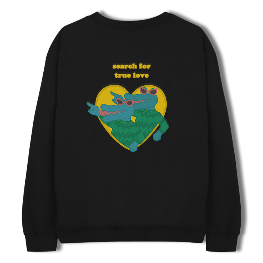 [키매] TRUE LOVE CREWNECK