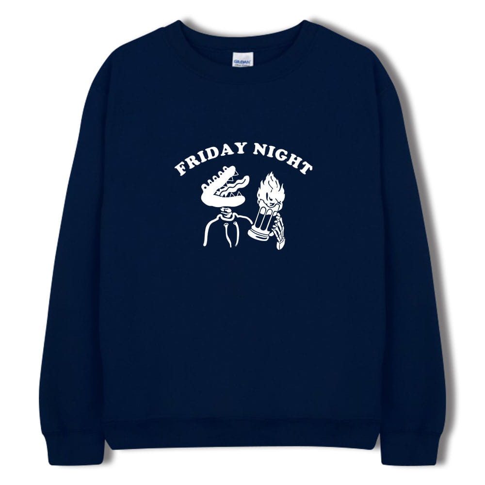 [키매] FRIDAY NIGHT CREWNECK