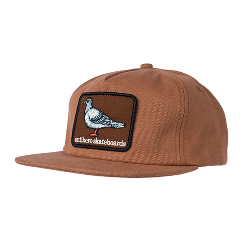 [Anti Hero] PIGEON PATCH SNAPBACK  - BROWN