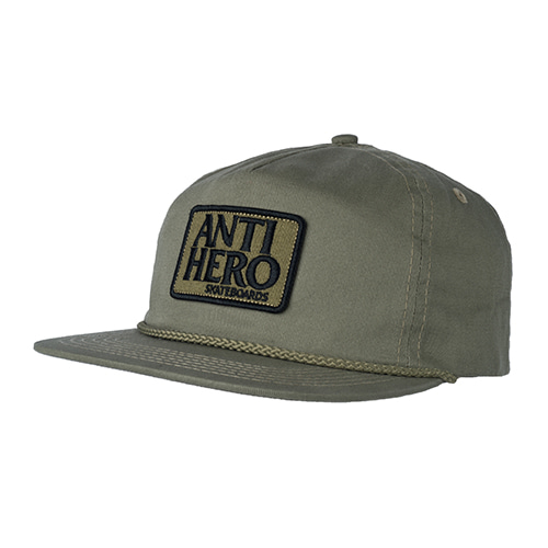[Anti Hero] RESERVE PATCH SNAPBACK  - ALOE GREEN