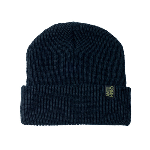 [Anti Hero] BLACKHERO CLIP LABEL CUFF BEANIE - BLACK