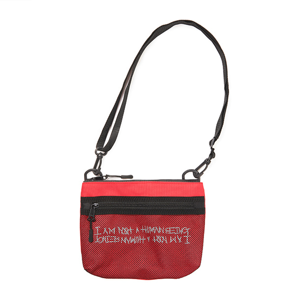 Basic Logo Pouch Bag - RED