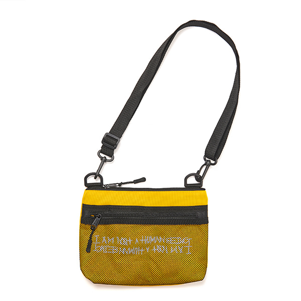 Basic Logo Pouch Bag - YELLOW