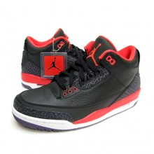 [NEW] Air Jordan 3 Retro 크림슨 [136064-005]
