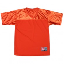 Football Jersy (Heavy Mesh) - Orange