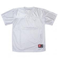 Football Jersy (Heavy Mesh) - White