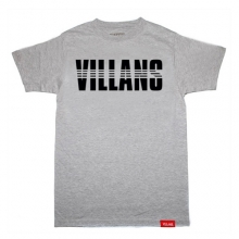 Villans Dashed Tee - Grey