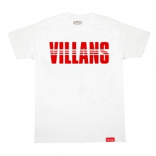 Villans Dashed Tee - White