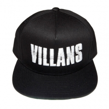 Villans Dashed Snapback - Black/White