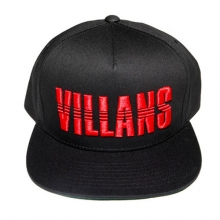 Villans Dashed Snapback - Black/Red