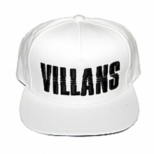 Villans Dashed Snapback - White/Black