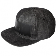 Basic Logo Snapback - Black Denim