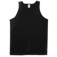 (1307)Adult Tank Top - Black