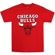 Majestic Derrick Rose Chicago Bulls Player T - Red