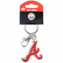 Atlanta Braves Team Logo Heavyweight Key Chain