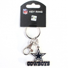 Cowboys Logo Heavyweight Key Chain