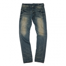 Indigo Selvedge Washed Denim
